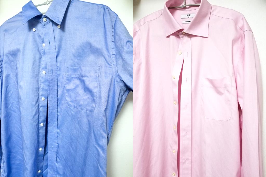 スーパーノンアイロンシャツ比較